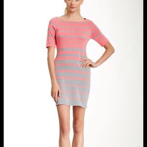 Trina Turk striped sweater mini dress